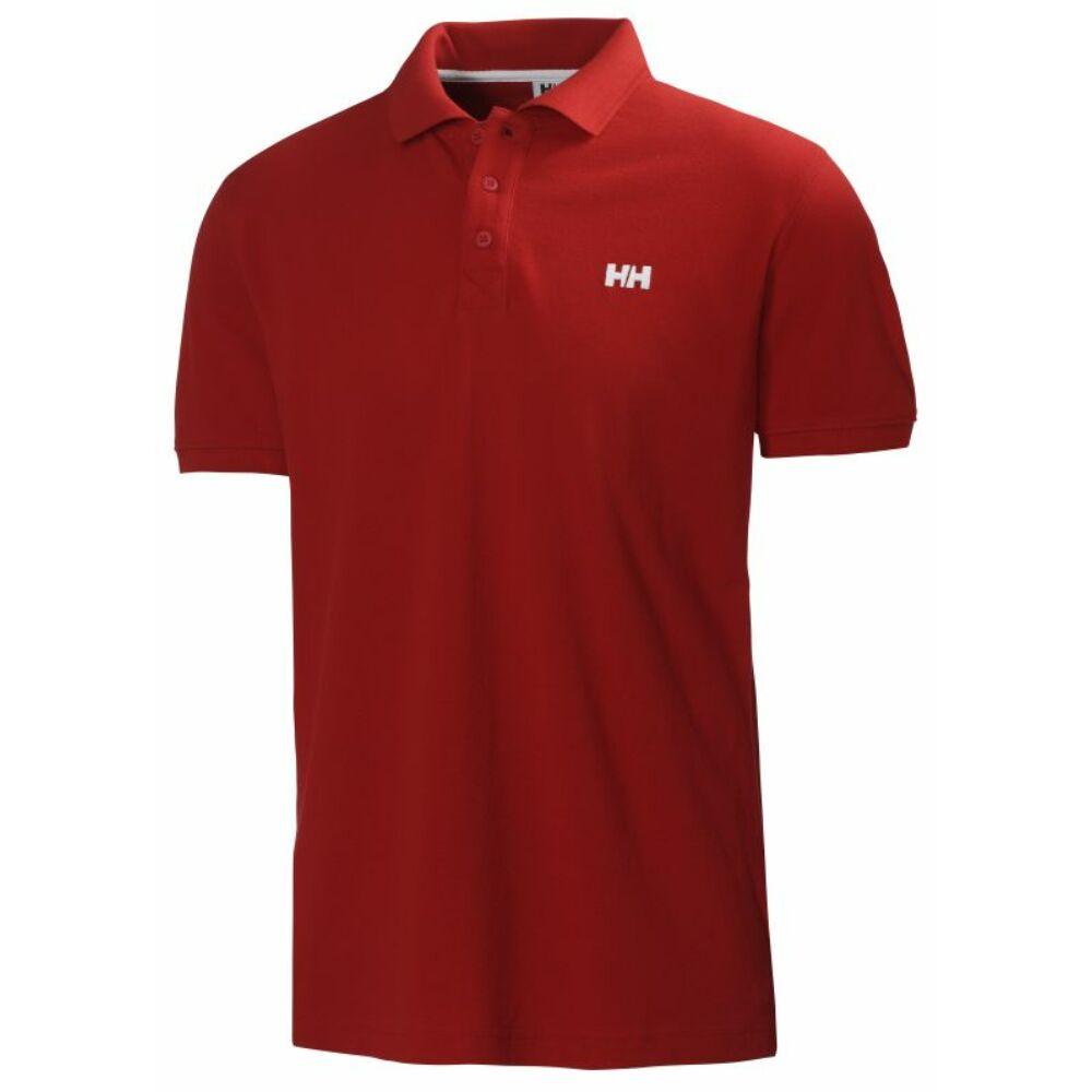 92cf7fd937 HH Transat Polo Alert Red férfi póló - FÉRFI PÓLÓK