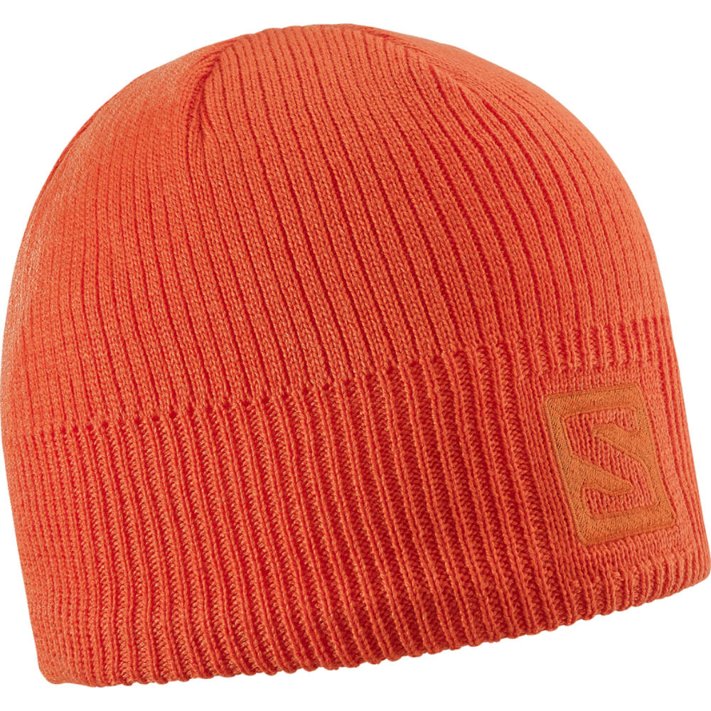 SALOMON Logo Beanie Orange sapka - TÉLI SAPKÁK  SÍMASZKOK bdbaae99f3