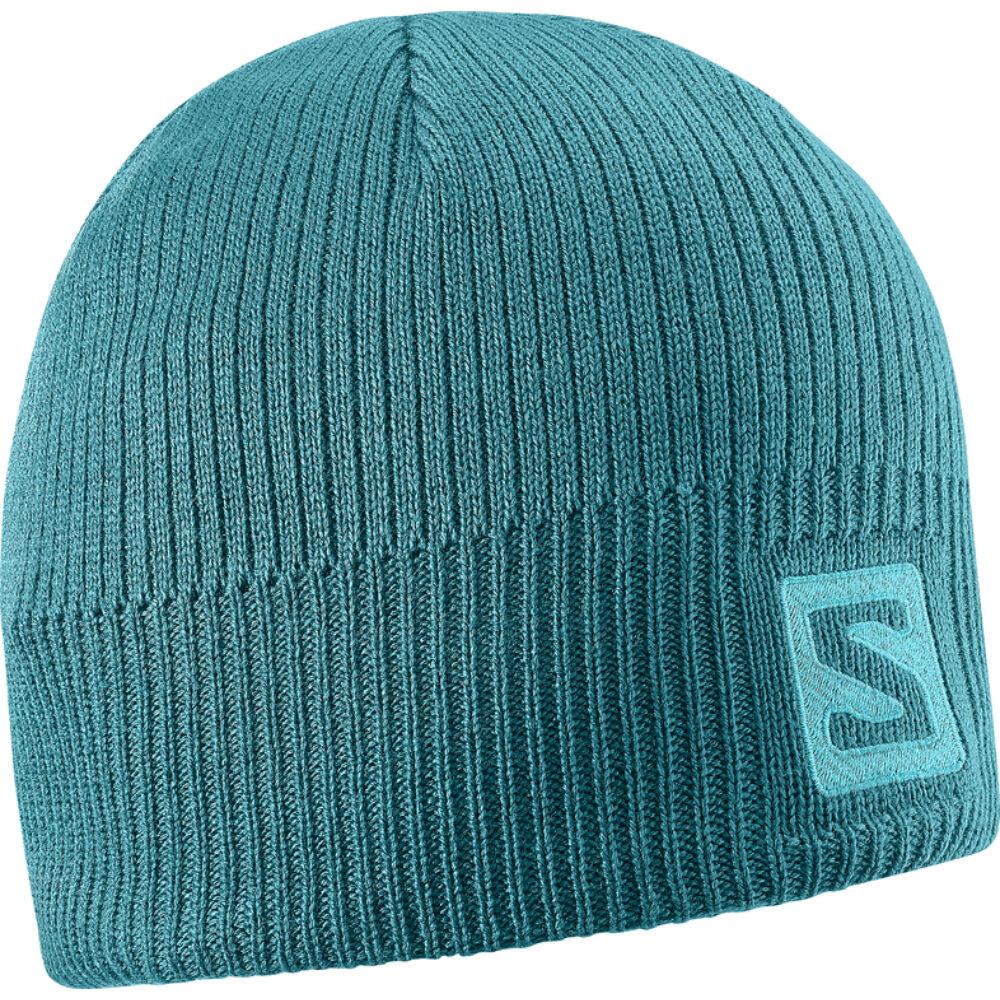 SALOMON Logo Beanie Blue Steel sapka - TÉLI SAPKÁK  SÍMASZKOK 49d9249925