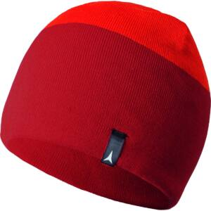 ATOMIC Alps Reversible Beanie D.Red/ B.Red sapka