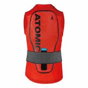 ATOMIC Live Shield Vest Amid M Red férfi protektor 18/19