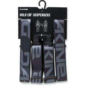 DAKINE Hold Em' Suspenders Black nadrágtartó