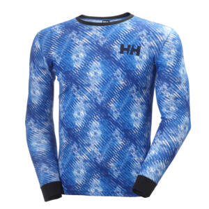 HH Active Flow LS Graphic R.Blue aláöltöző