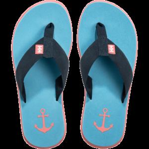 HH W Seasand HP Navy Aqua női papucs