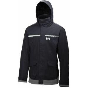 HH Pier Jacket Navy férfi vitorlás kabát