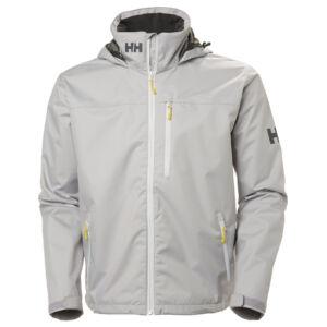 HH Crew Hooded Jacket Silver férfi vitorlás dzseki