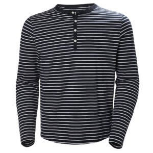 HH Fjord Henley Navy Stripe férfi póló