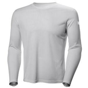 HH Tech Crew LS Shirt Silver férfi aláöltöző