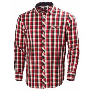 HH Coast Shirt Navy Check férfi ing