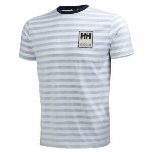 HH Graphic SS Tee Navy Stripe férfi póló