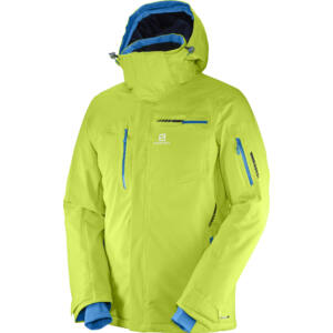 SALOMON Brilliant Jkt. Acid Lime férfi síkabát 17/18