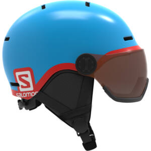 SALOMON Grom Visor Blue junior bukósisak 17/18