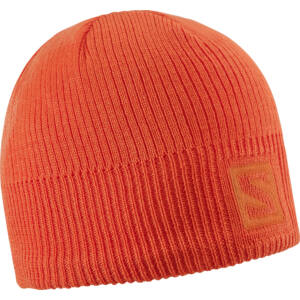 SALOMON Logo Beanie Orange sapka