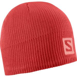 SALOMON Logo Beanie Infrared sapka
