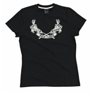HH W Graphic SS Tee Ebony női póló