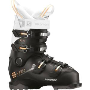 SALOMON X Pro 90 W Black/Wht/Cor. női sícipő 18/19