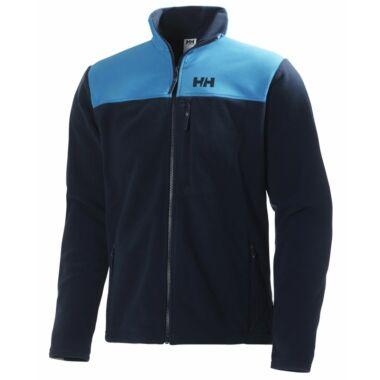 HH Sitka Fleece Jkt. Blue polár pulóver