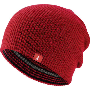 ATOMIC AMT Reversible Slouch Beanie Blk/Red sapka