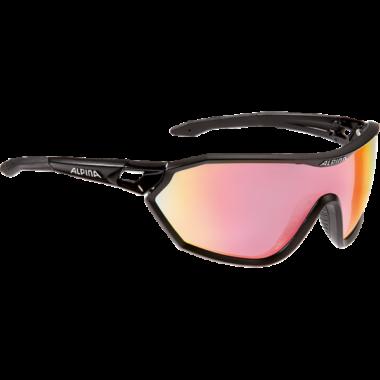 ALPINA S-Way QVM+ Black Matt napszemüveg