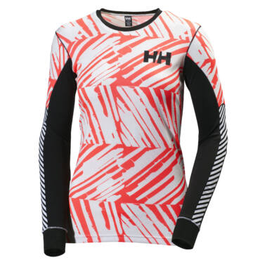 HH W Active Flow Graphic LS női aláöltöző