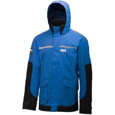 HH Pier Jacket  Racer Blue férfi vitorlás kabát
