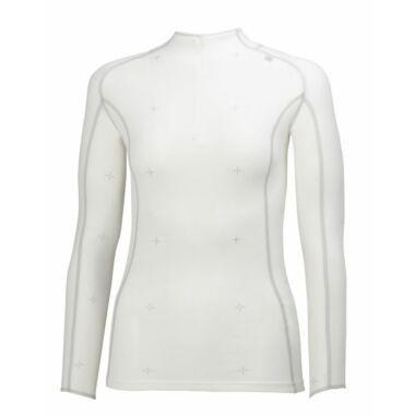 HH W Warm Crystal 1/2 Zip White női aláöltöző