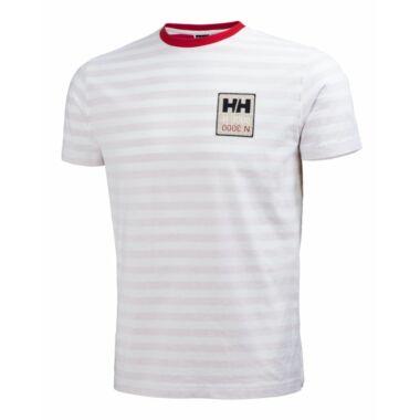 HH Graphic SS Tee Flag Red férfi póló