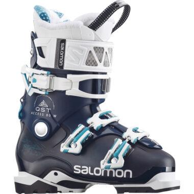 SALOMON Quest Access 80W Petrol Blue/ Wht női sícipő 17/18