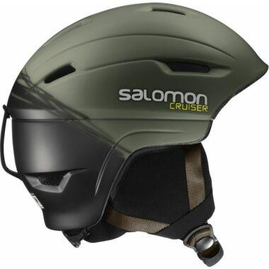 SALOMON Cruiser 4D Swamp/Blk bukósisak 16/17