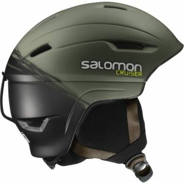 SALOMON Cruiser 4D Swamp/Blk bukósisak 16/17