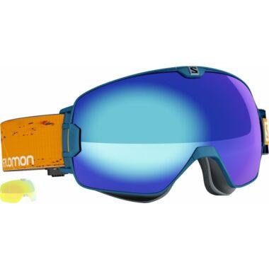 SALOMON X Max Navy Blue Solar Blue síszemüveg 16/17