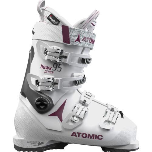 ATOMIC Hawx Prime 95 W White/Purple női sícipő 18/19