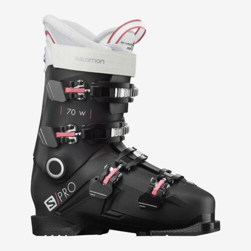 SALOMON S/Pro 70 W Black/ Pink női sícipő 19/20