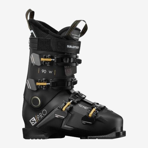 SALOMON S/Pro 90 W Black/ Bel./ Gold női sícipő 19/20