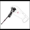 LEKI Artena Airfoil 3D Aubergine Red/ Coral női síbot 20/21