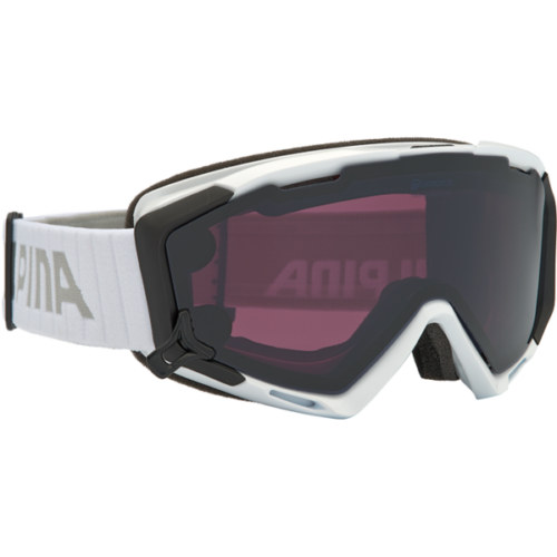 ALPINA Panoma Magnetic QL White síszemüveg