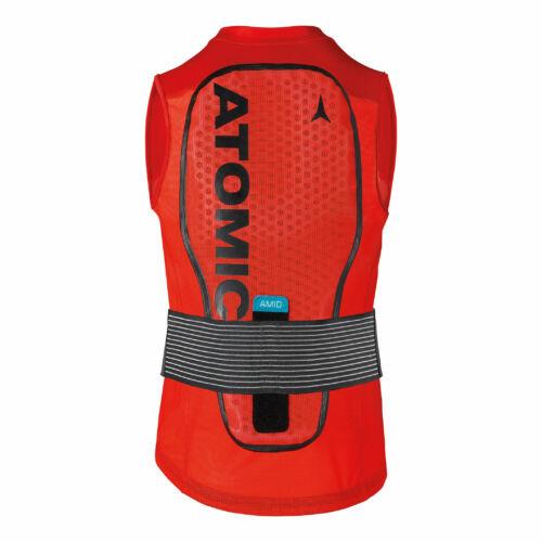 ATOMIC Live Shield Vest Amid M Red férfi protektor 20/21