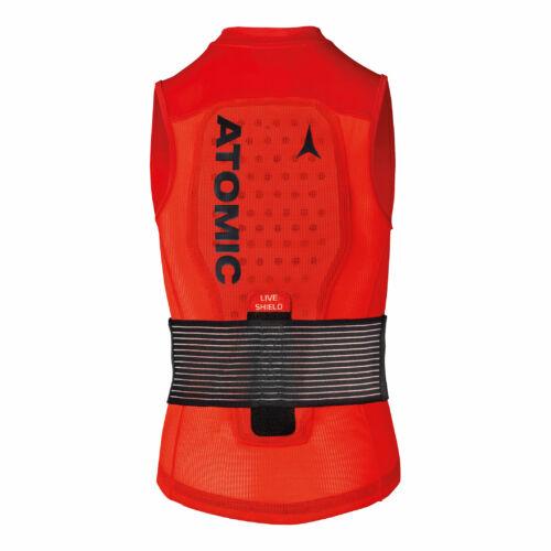 ATOMIC Live Shield Vest JR Red junior protektor 18/19