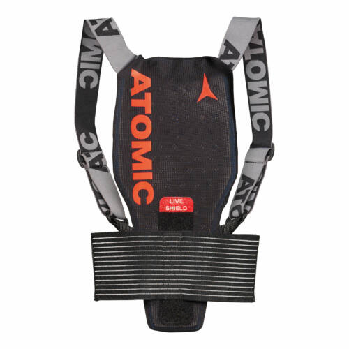 ATOMIC Live Shield JR Black junior protektor 18/19