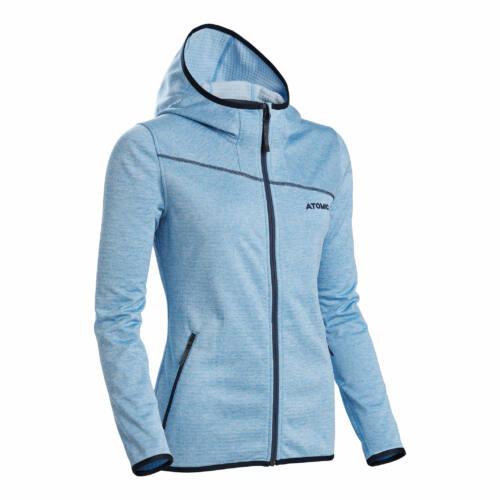 ATOMIC W Microfleece Hoodie Light Blue női pulóver 18/19