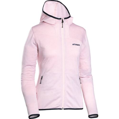 ATOMIC W Microfleece Hoodie Pink női pulóver