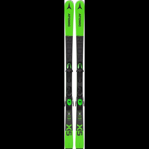 ATOMIC Redster X5 Green+ M10 GW síléc kötéssel 20/21