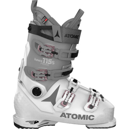 ATOMIC Hawx Prime 115 S W Light Grey/ Dark Grey női sícipő 20/21