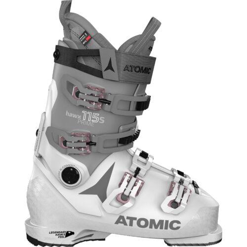ATOMIC Hawx Prime 115 S W Light Grey/ Dark Grey női sícipő 20/21