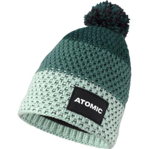 ATOMIC Alps Kids Beanie D.Green/Mint junior sapka 20/21