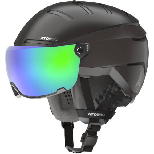 ATOMIC GT Amid Visor HD Black bukósisak  20/21