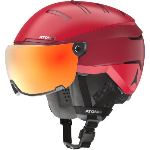 ATOMIC GT Amid Visor HD Red bukósisak  20/21