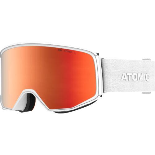 ATOMIC Four Q Stereo White síszemüveg 20/21