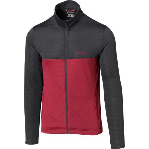 ATOMIC Alps Jacket Anthracite/Rio Red férfi pulóver 20/21