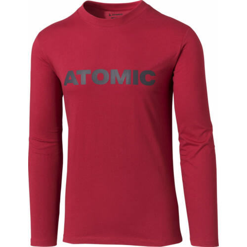 ATOMIC Alps LS T-Shirt Rio Red férfi póló 20/21